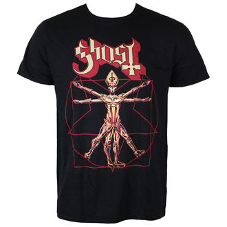 Herren T-Shirt Metal Ghost - Popestar Tour 2017 - ROCK OFF, ROCK OFF, Ghost