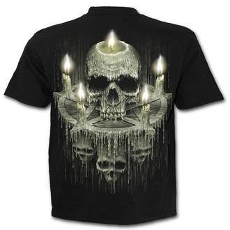 Herren T-Shirt - WAXED SKULL - SPIRAL, SPIRAL