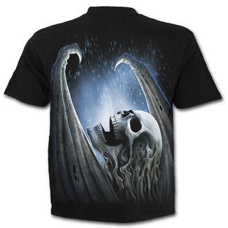 Herren T-Shirt - WINGED SKELTON - SPIRAL, SPIRAL