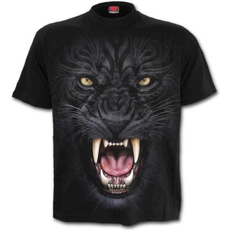 Herren T-Shirt - TRIBAL PANTHER - SPIRAL, SPIRAL
