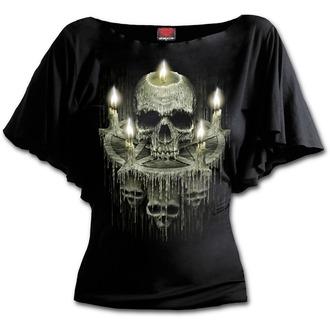 Damen T-Shirt - WAXED SKULL - SPIRAL, SPIRAL