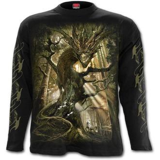Herren Longsleeve - DRAGON FOREST - SPIRAL, SPIRAL