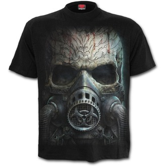 Herren T-Shirt - BIO-SKULL - SPIRAL, SPIRAL