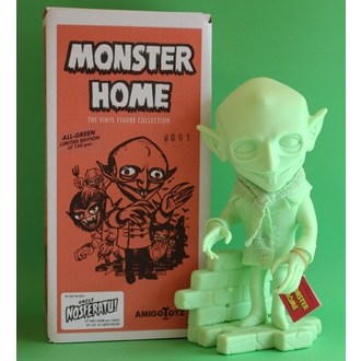 Figur Monster Home - Uncle Nosferatu All-Green