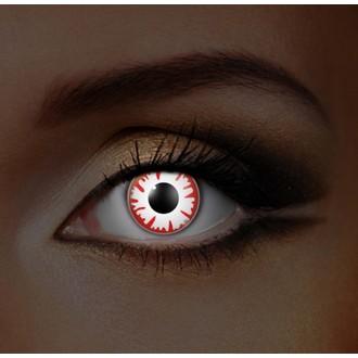 Kontaktlinsen I-GLOW- WHITE DEMON UV - EDIT - 83014