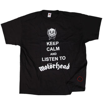 Herren T-Shirt Metal Motörhead - Keep Calm - ROCK OFF - NI009