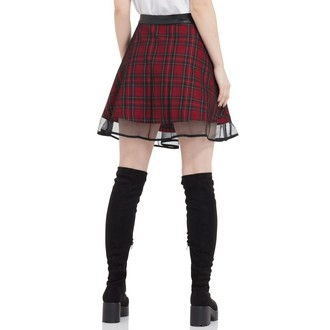Damen Rock JAWBREAKER - Tartan Two Layer, JAWBREAKER