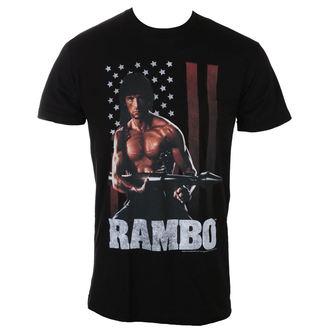Herren T-Shirt Film RAMBO - RAMBERICA, AMERICAN CLASSICS