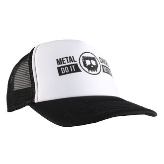 Cap METAL CHICKS DO IT BETTER - Skull - Logo - Schwarz, METAL CHICKS DO IT BETTER