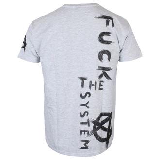 Herren T-Shirt - Fuck the System - ALISTAR, ALISTAR