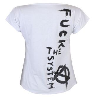 Damen T-Shirt Punk - Fuck the System - ALISTAR, ALISTAR
