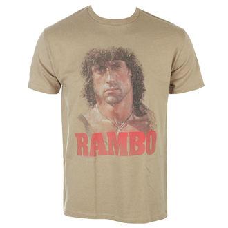 Herren T-Shirt Film RAMBO - GRUNGE RAMBO, AMERICAN CLASSICS