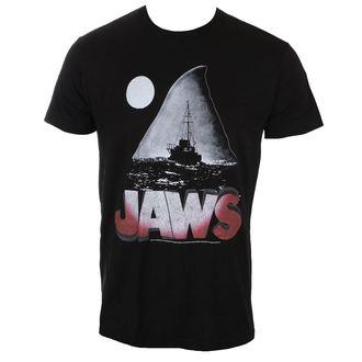 Herren T-Shirt Film - JAWS NIGHT - AMERICAN CLASSICS, AMERICAN CLASSICS
