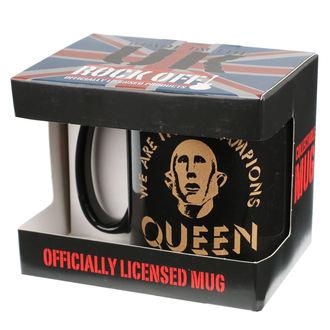 Tasse QUEEN - ROCK OFF, ROCK OFF, Queen