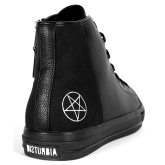 High Top Sneaker Unisex - NEVER KNEEL - DISTURBIA