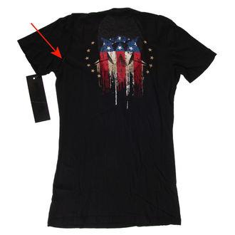 Damen T-Shirt Hardcore - Americoma - WORNSTAR, WORNSTAR