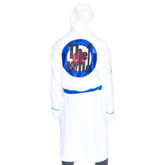 Bademantel The Who - Logo - Weiß / Blau, Who