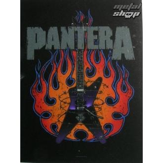 Fahne Pantera HFL 0943, HEART ROCK, Pantera