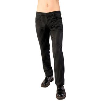 Hose Aderlass - Jeans Pin Stripe Black-White, ADERLASS