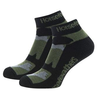 Socken HORSEFEATHERS - JETT - Olive Camo, HORSEFEATHERS
