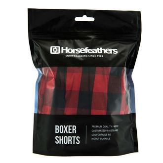 Herren Boxershorts HORSEFEATHERS - APOLLO - CHILI, HORSEFEATHERS
