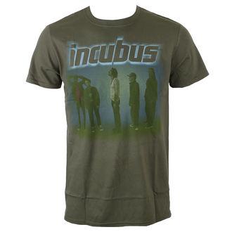 Herren T-Shirt Metal Incubus - WASHOUT- OLIVE - BRAVADO, BRAVADO, Incubus