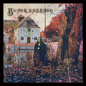 Poster mit Bilderrahmen Black Sabbath - (&&string1&&) - PYRAMID POSTERS, PYRAMID POSTERS, Black Sabbath