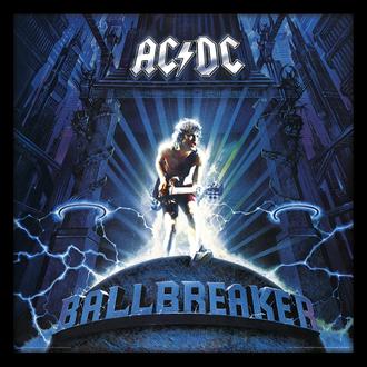 Poster mit Bilderrahmen AC / DC (Ballbrecher) - PYRAMID POSTERS, PYRAMID POSTERS, AC-DC