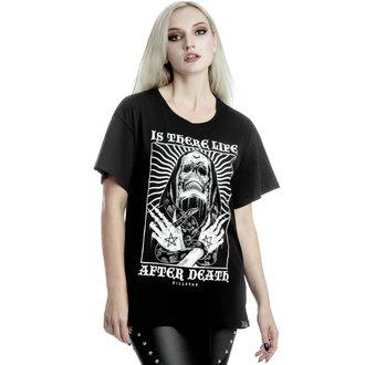 Damen T-Shirt KILLSTAR - Afterlife Relaxed - SCHWARZ, KILLSTAR
