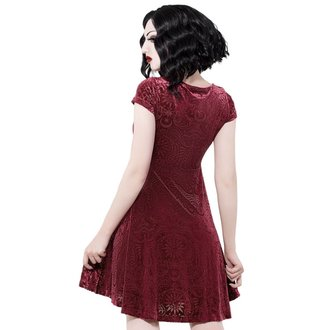 Damen Kleid KILLSTAR - Angelyn - WEIN, KILLSTAR