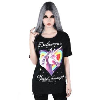 Damen T-shirt KILLSTAR - ANNOYING RELAXED - SCHWARZ, KILLSTAR