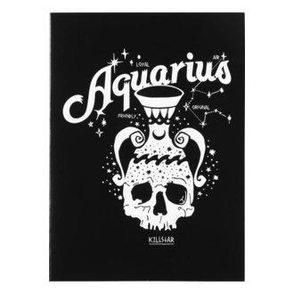 Glückwunschkarte KILLSTAR - Aquarius - SCHWARZ, KILLSTAR