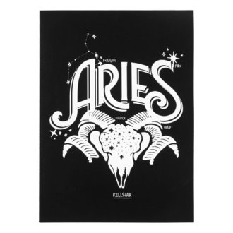 Glückwunschkarte KILLSTAR - Aries - SCHWARZ, KILLSTAR