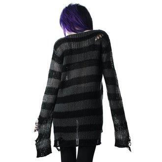 Pullover KILLSTAR - Ash Distress - SCHWARZ, KILLSTAR