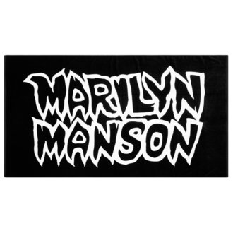 Badetuch Handtuch KILLSTAR - MARILYN MANSON - Avoid The Sun - Schwarz, KILLSTAR, Marilyn Manson