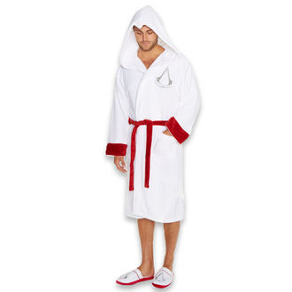 Bademantel Assasine Creed - White Logo, NNM