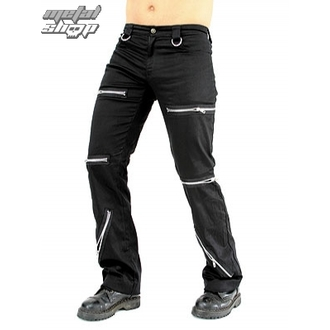 Herrenhose Black Pistol - Destroy Pants Black Denim, BLACK PISTOL