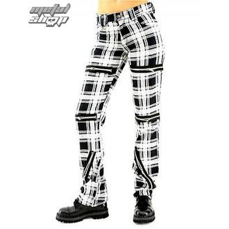 Hose Damen Black Pistol - Destroy Pants Tartan (Black/White) - B-1-20-060-01