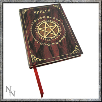 Notizblock Embossed Spell - Red, NNM