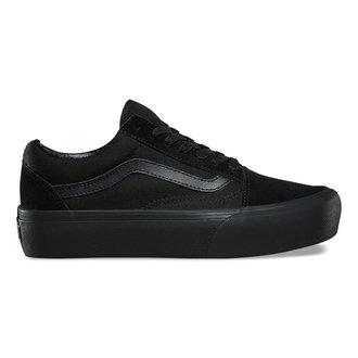 Damen Low Sneaker - UAOLD SKOOL PLATFORM Schwarz Schwarz - VANS, VANS
