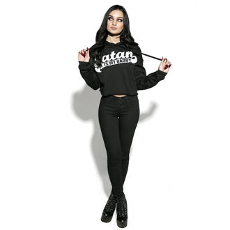 Damen Hoodie - Satan Is My Daddy - BLACK CRAFT, BLACK CRAFT