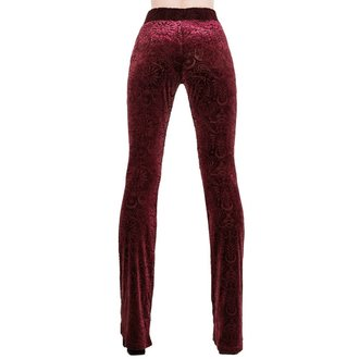 Damen Hose KILLSTAR - Bellatrix - WEINROT, KILLSTAR