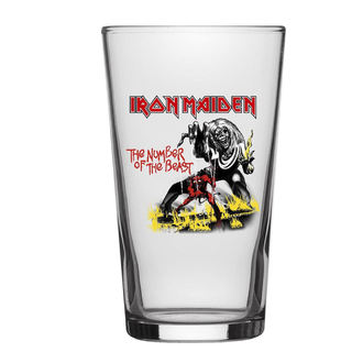 Glas Iron Maiden - Number Of The Beast - RAZAMATAZ, RAZAMATAZ, Iron Maiden