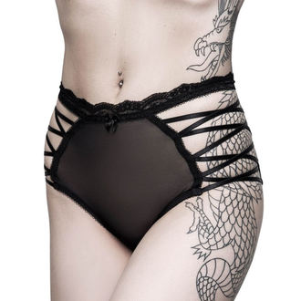 Damen Knickers Slip KILLSTAR - Bordello - SCHWARZ, KILLSTAR