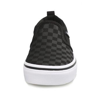 Kinder Low Sneaker - YT ASHER (Checker) Blk / Bl - VANS