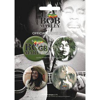 Button - BOB MARLEY - BP0056, GB posters, Bob Marley