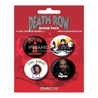 Button Death Row Records - BP80085