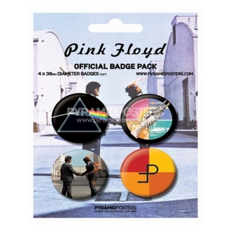 Button - Pink Floyd - BP80091, PYRAMID POSTERS, Pink Floyd