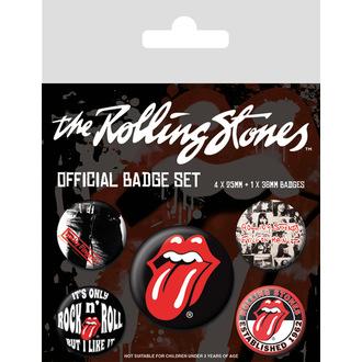 Abzeichen Rolling Stones - (&&string0&&) - PYRAMID POSTERS, PYRAMID POSTERS, Rolling Stones