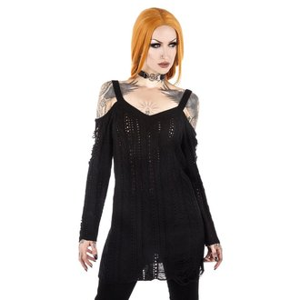 Damen Pulli KILLSTAR - Bury Bridgette - Schwarz, KILLSTAR